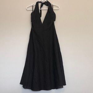 JCrew halter dress worn twice.
